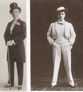 Vesta Tilley was the highest paid music hall performer of her time. She started out aged four in 1868 and retired in 1920 at the age of  fifty-six.