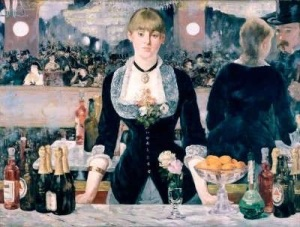 Manet's Bar at the Folies Bergère
