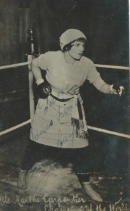 Marthe Carpentier Champion of the World