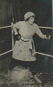 Marthe Carpentier Champion of the World