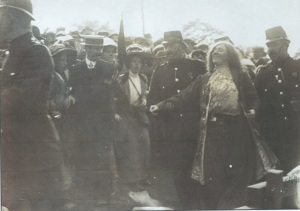 The arrest of Kitty Marion at the National Eisteddfod 1912