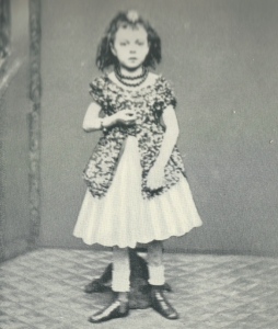 Aged four